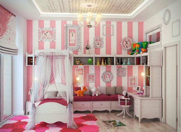 5 simples passos para você decorar o quarto da sua princesa